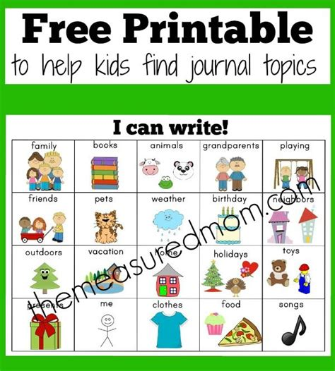 free printable educational journal articles 45 best kindergarten writing images on pinterest
