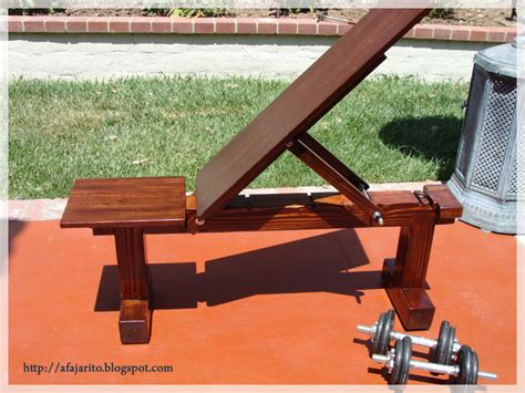 wooden exercise bench diy weight bench 5 position flat incline health and