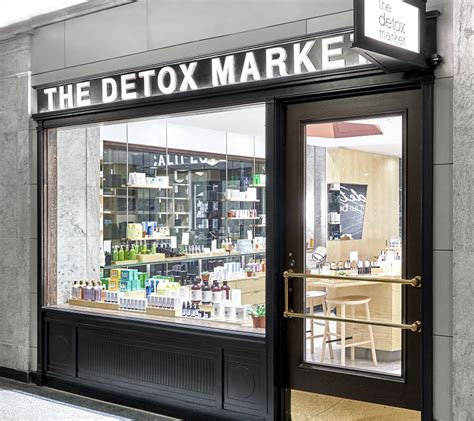 The Detox Market Locations by S Bar Enters Canada With 1st Store Location
