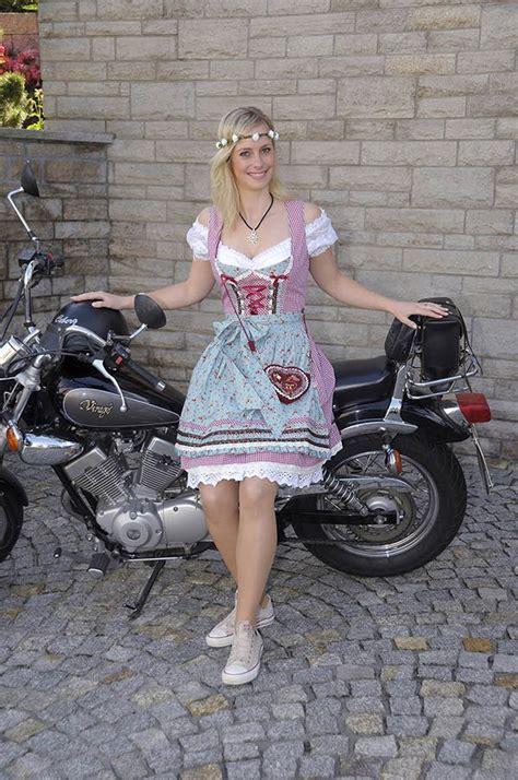 Triumph Motorrad Aschaffenburg by Dirndl Im Jeanslook European Traditional