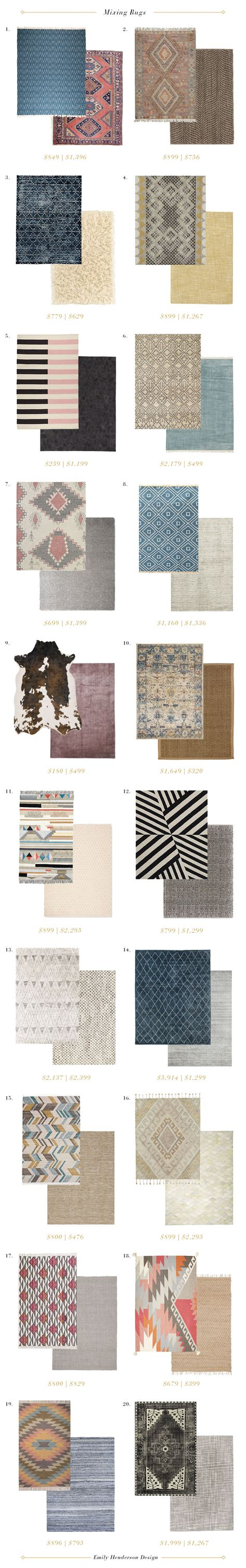 emily henderson rugs how to mix rugs in the same room emily henderson
