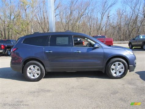 2013 Atlantis Blue Metallic Chevrolet Traverse Ltz Awd