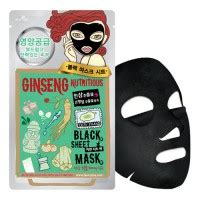 Sale Ori The Shop Mineral Ginseng Mask Masker dewytree ginseng nutritious black mask 5sheets