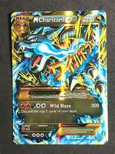 Flash Cards At Walmart Pokemon Tcg Mega M Charizard Ex 108 106 Secret Rare Gold