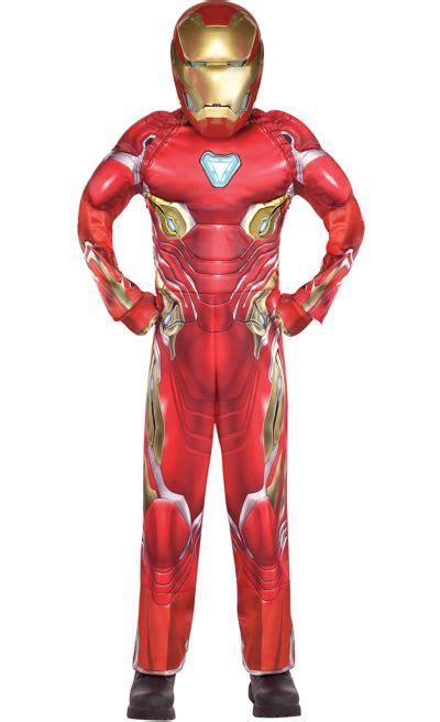 boys iron man muscle costume avengers infinity war