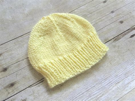 free knitting patterns for baby hats newborn baby hat to knit free knitting pattern swanjay