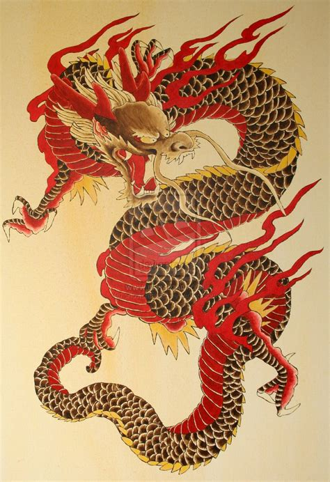 japanese tattoo encyclopedia the dragon by snowcrashed on deviantart learn more at the