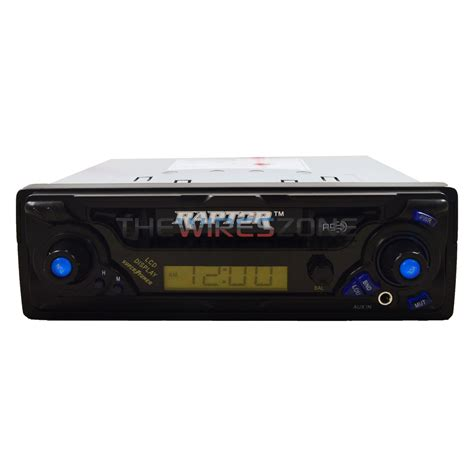 car stereo cassette raptor rp cst car cassette player stereo receiver with am