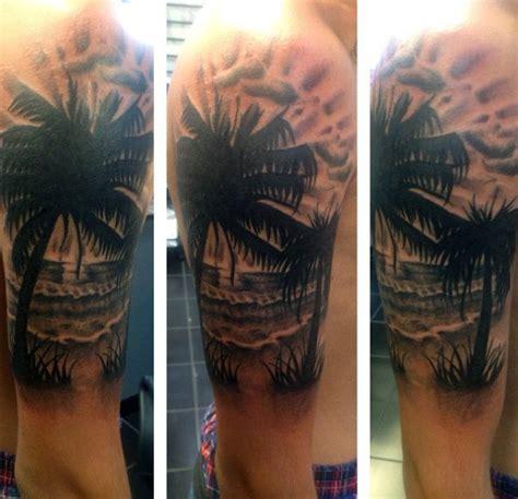 tattoo arm beach 75 beach tattoos for men serene sandy shore designs