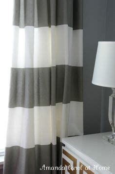 grey and white horizontal striped curtains grey and white or better yet navy white curtains