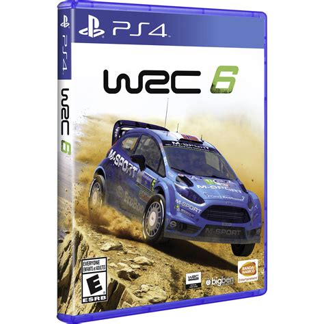 Wrc 6 Ps4 by Bandai Namco Wrc 6 Ps4 12130 B H Photo