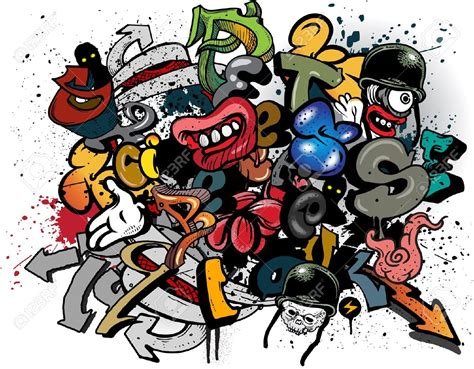 graffiti imagenes libres graffiti dibujos animados im 225 genes de archivo vectores