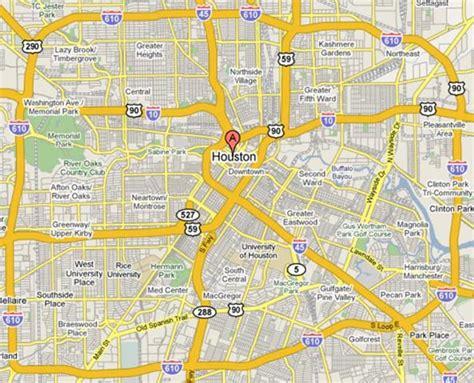 houston map inside 610 inner loop listings