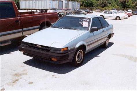 1985 toyota corolla wagon 1985 toyota corolla station wagon specifications