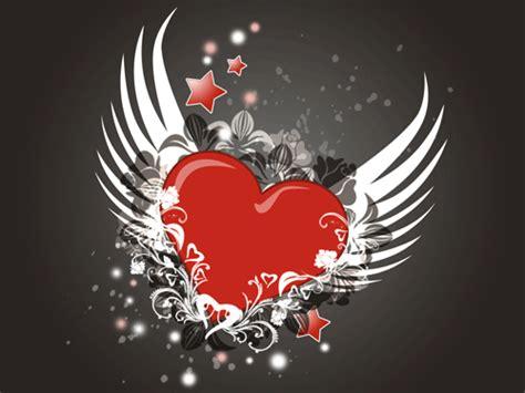 imagenes de corazones alas imagenes de corazones con brillos y animados de amor para