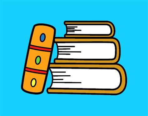 dibujo de unos libros para colorear dibujos net dibujo de unos libros pintado por en dibujos net el d 237 a 26
