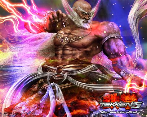 game wallpaper tekken 5 tekken 5 wallpapers