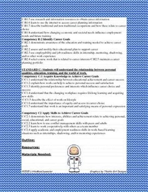 asca lesson plan template 17 best images about asca on student middle