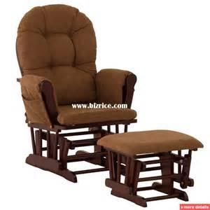 Glider Chairs With Ottoman Classic Upholstered Glider Rocker And Ottoman Chair United States Living Room Chairs For Sale
