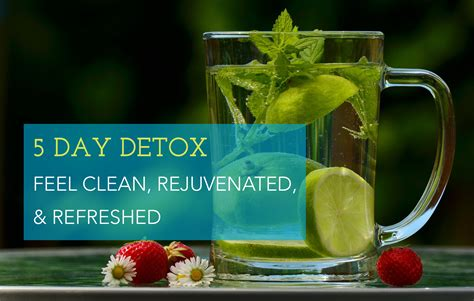 5 Day Liver Detox Plan by 5 Day Detox