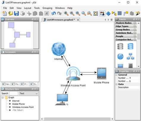 best software for diagrams 7 best free network diagram software for windows