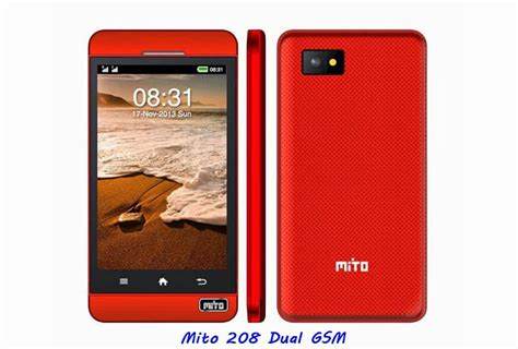 Handphone Mito 680 3 5 Inch mito 208 dual gsm seputar dunia ponsel dan hp