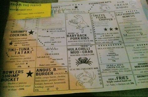 salty menu menu salty seagull petitenget bali best restaurants cafe in bali guide bali