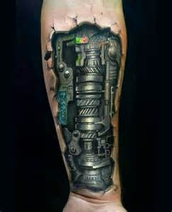25 best ideas about mechanical arm tattoo on pinterest