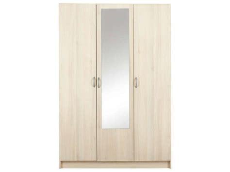 Armoire Conforama 3 Portes by Armoire 3 Portes 1 Porte Miroir Spot 10 Acacia Conforama