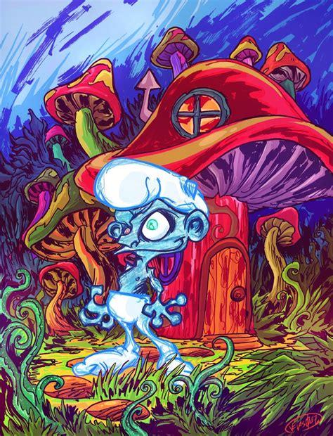 9 Drawings On Acid by Smurf On Acid By Eldeivi On Deviantart
