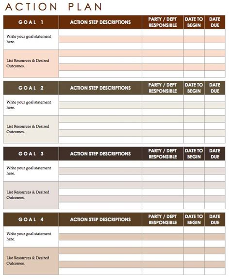 10 Effective Action Plan Templates You Can Use Now Success Guides Hacks And Tips Action Project Management Corrective Plan Template