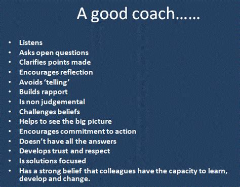 coaching staff quotes like success