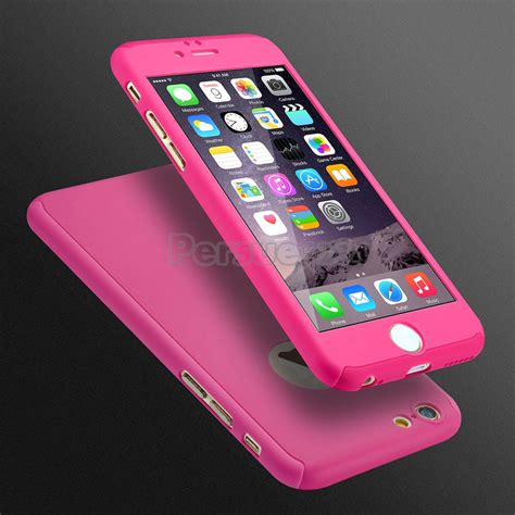 Iphone 6 6s 360 Gradient Rubber Hardcase Casing Biru Kuning ultra thin 360 176 protective for iphone models tempered glass ebay