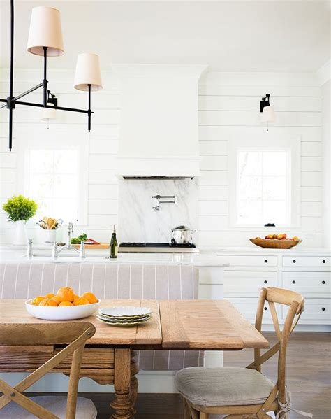 kitchen island with banquette the best open concept kitchen design trends of 2017 purewow
