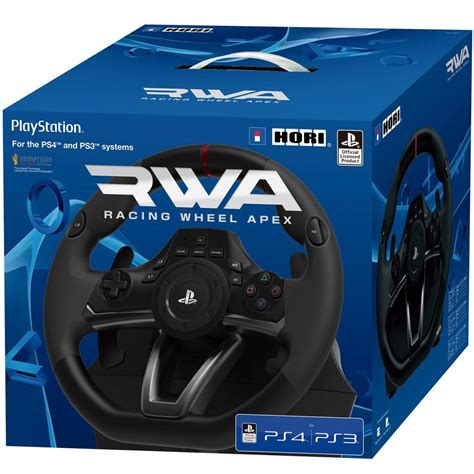 volante racing volante racing wheel apex para ps4 ps3 y pc