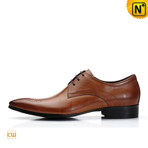 oxford shoes mens italian leather oxford shoes brown cw762112