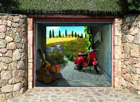 style your garage style your garage creative 3d garage doors stickers
