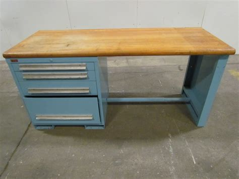 lyon work bench lyon industrial butcher block work bench 72 quot wx28 1 4 quot dx34
