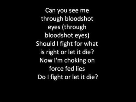 bullet for my lyrics you want a battle bullet for my the last fight lyrics