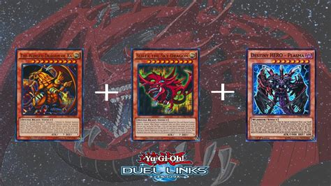 yo gi oh decks erstellen yu gi oh duel links slifer the sky deck