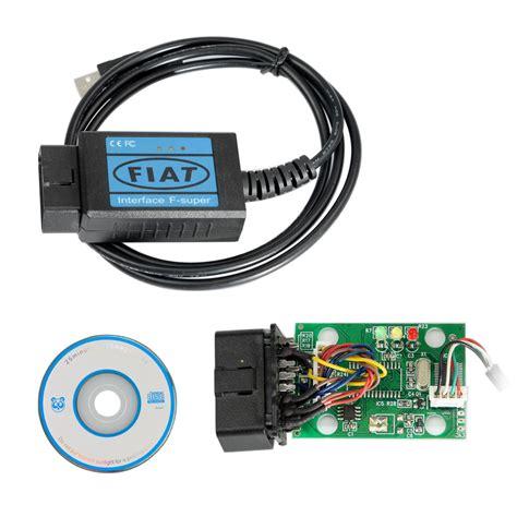 Usb Obdii Scanner Cable fiat obd2 eobd scanner usb diagnostic cable