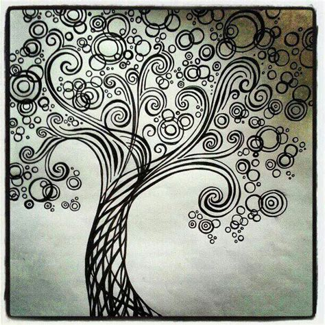 44 best images about zentangle trees on pinterest