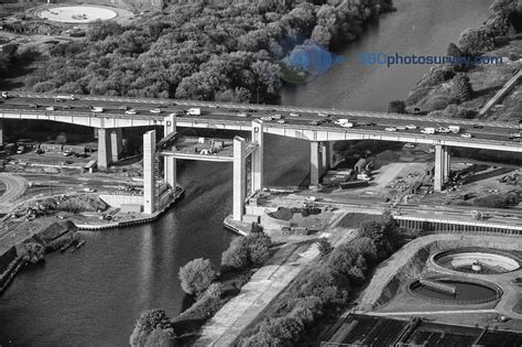collapse baton last aerial photo of barton bridge before catastrophic