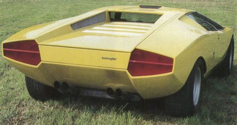 1971 Lamborghini Countach 1971 Lamborghini Countach Lp500 Cars