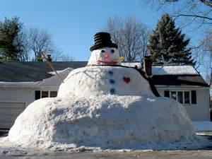 extra large snow man snow creations pinterest