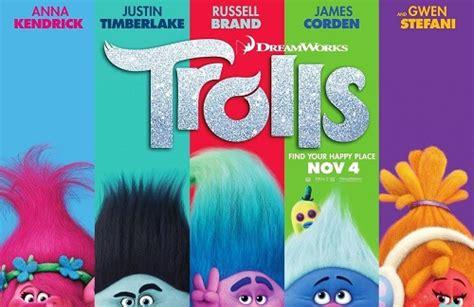 film animasi musikal trolls animasi dengan unsur petualangan komedi fantasi