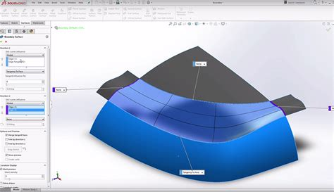 solidworks tutorial boundary boss solidworks boundary surfaces learnsolidworks com
