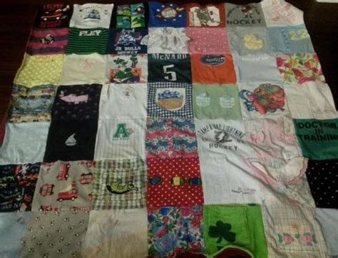 Repat Quilt by Tiny Memories Baby Clothes Quilts Project Repat T Shirt