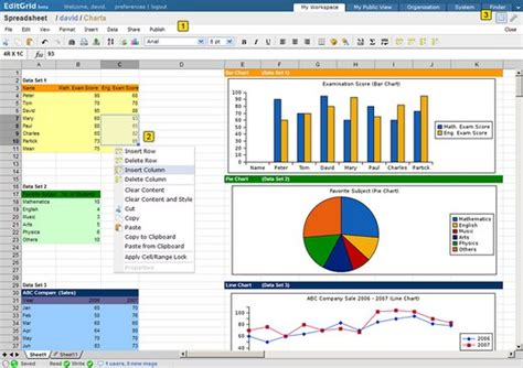 Exle Excel Spreadsheet Data by Microsoft Excel Ashleygb