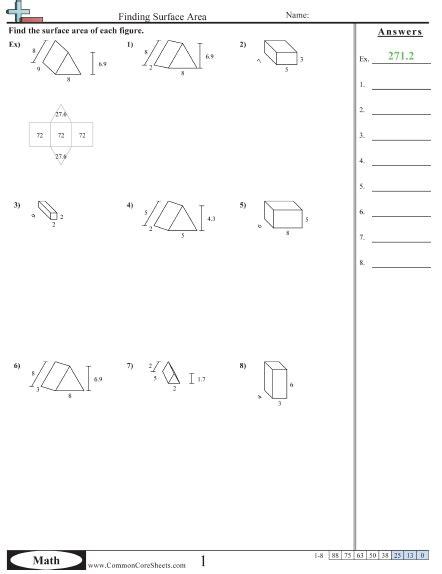 numbers printable area number names worksheets 187 fun area worksheets free